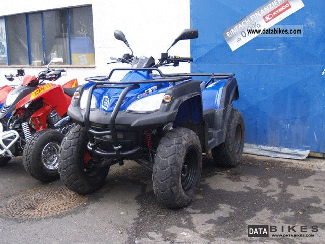 2011 Adly  320 Canyon Motorcycle Quad photo