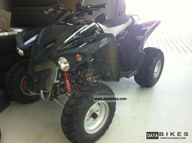 2010 Adly  Cross Road 220 Sentinel Motorcycle Quad photo