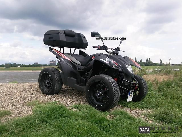 2010 Adly  320 Flat / Hurricane Motorcycle Quad photo