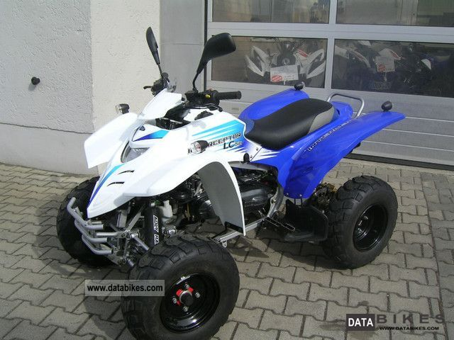 2011 Adly  Interceptor 50 XXL liquid cooled Motorcycle Quad photo