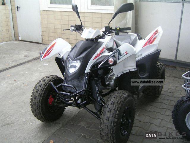 2011 Adly  Hurricane 320 Motorcycle Quad photo