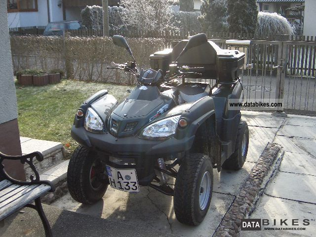 2007 Adly  Canyon Motorcycle Quad photo