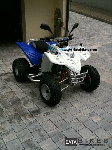 2009 Adly  300 Interceptor Motorcycle Quad photo