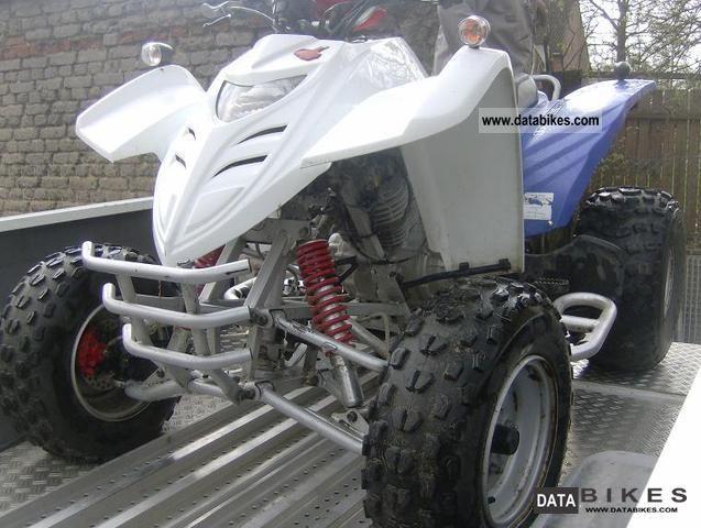 2007 Adly  ATV 300 Interceptor Motorcycle Quad photo