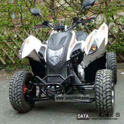 2011 Adly  Hurricane 320 Supermoto Motorcycle Quad photo