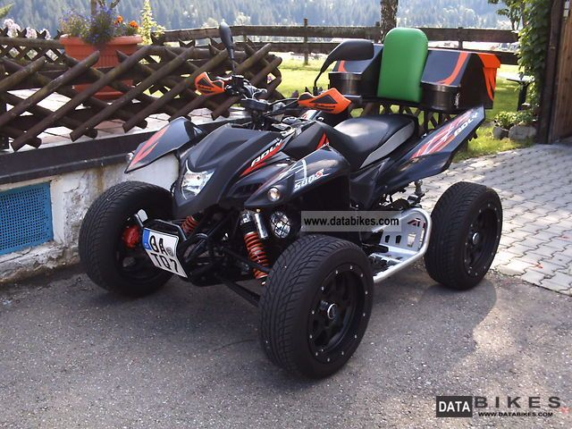 2009 Adly  Hurricane 500S Flat Motorcycle Quad photo