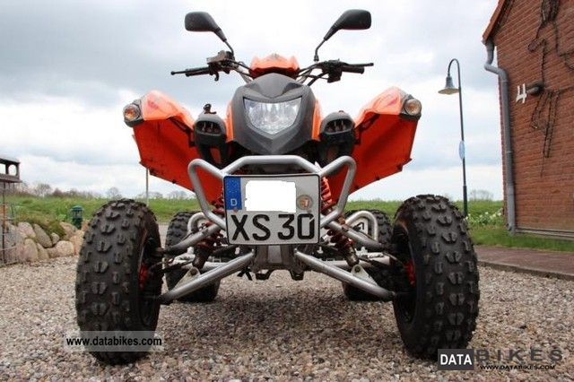 2009 Adly  300 XS Hurricane Motorcycle Quad photo