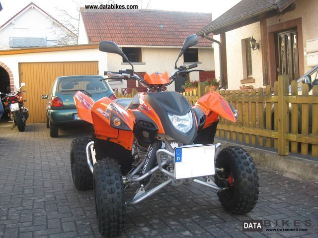 2011 Adly  Hurricane 300XS Motorcycle Quad photo
