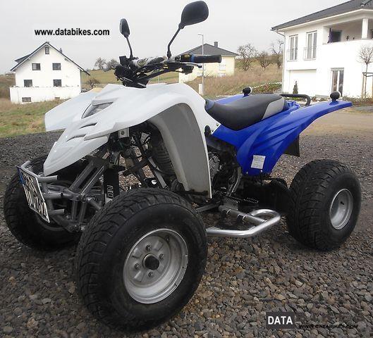 2009 Adly  Interceptor Motorcycle Quad photo