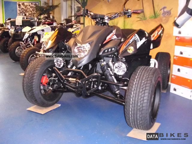2011 Adly  Hurricane 500 S Flat with LOF Motorcycle Quad photo