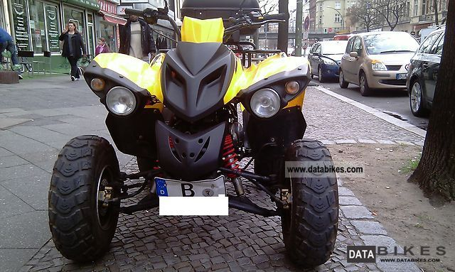 2006 Adly  Hercules 150S Crossroad Motorcycle Quad photo