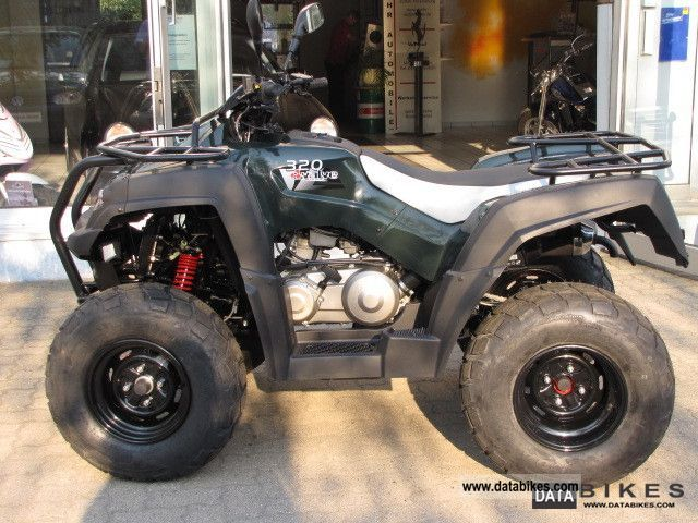 2011 Adly  CANYON 320 * 12ZOLL wheels! by the authorized dealer Motorcycle Quad photo