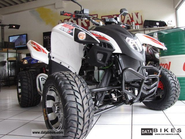 2011 Adly  320S SUPERMOTO now NEW SUPER WIDE FLAT + Motorcycle Quad photo