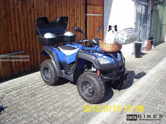 2011 Adly  ATV 320 Motorcycle Quad photo