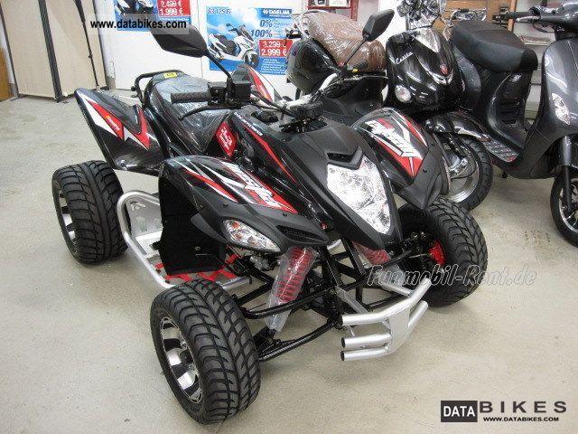 2011 Adly  Beeline BESTIA 3.3 Supermoto \ Motorcycle Quad photo