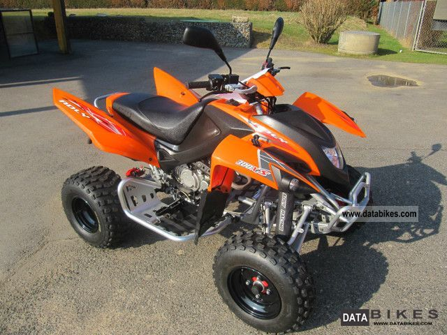 2011 Adly  Hurricane Motorcycle Quad photo
