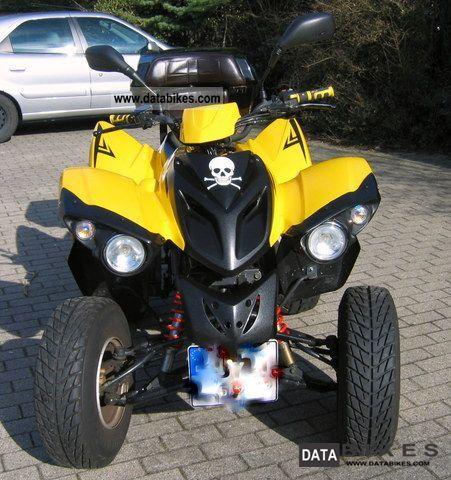 2006 Adly  Hercules Quad 250 Motorcycle Quad photo