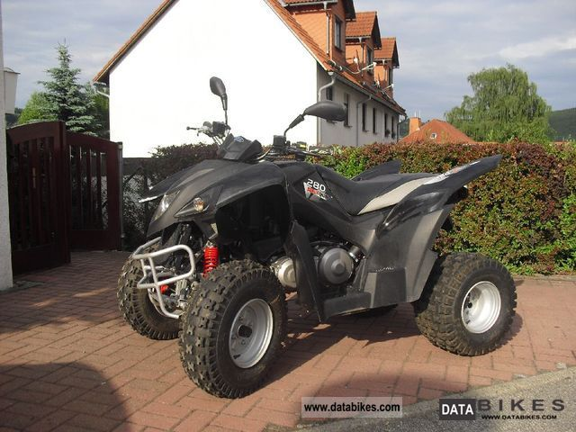 2010 Adly  280 Motorcycle Quad photo