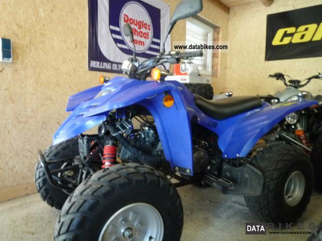2004 Adly  150 Motorcycle Quad photo