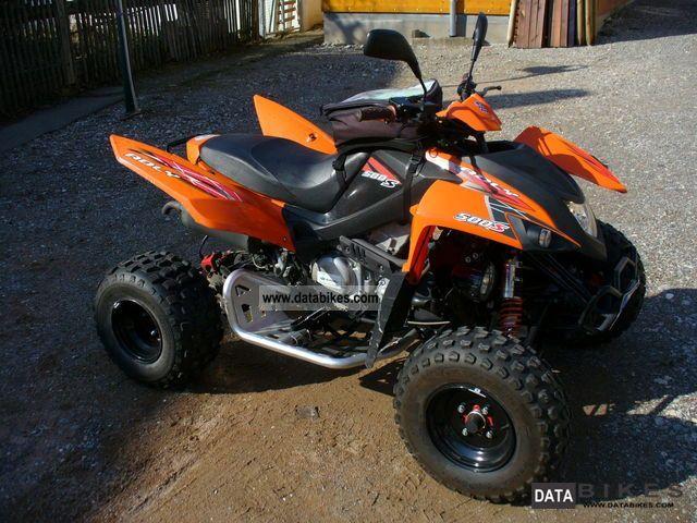 2010 Adly  500 S Hurricane Motorcycle Quad photo