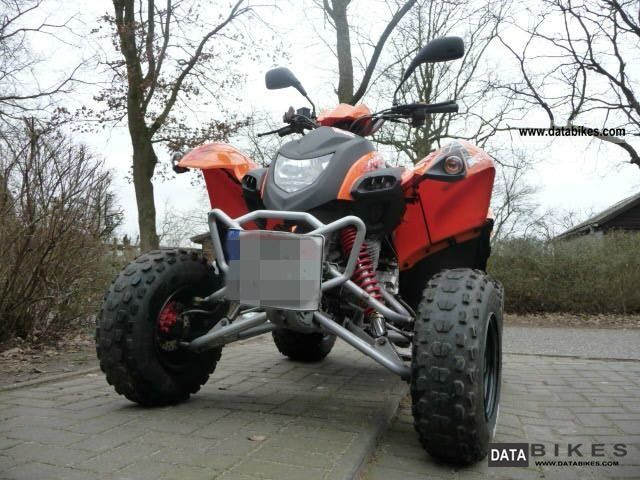 2009 Adly  Hurricane 300 xs Motorcycle Quad photo