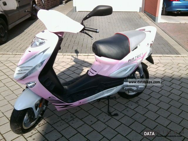 2010 Adly  TB 50 Air Tec white / pink Motorcycle Scooter photo