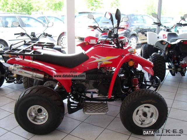2008 Adly  150 Sports / Auto / 265 Km / well maintained Motorcycle Quad photo