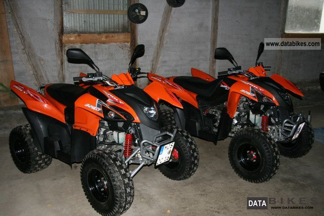 2011 Adly  320 Hurricane Motorcycle Quad photo