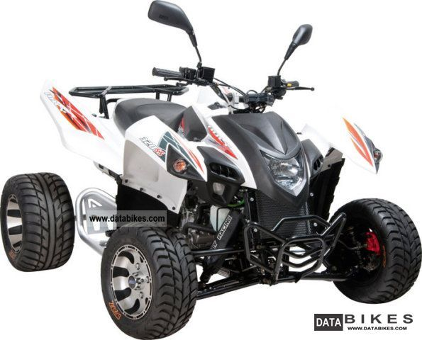 2011 Adly  Hercules 320 Supermoto Motorcycle Quad photo