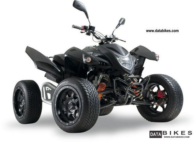 2011 Adly  Hercules Hurricane 500 S Flat including LoF Motorcycle Quad photo