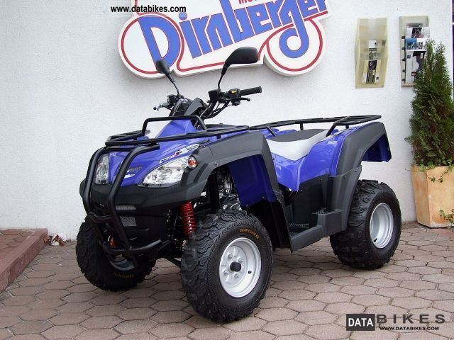 Adly  ATV 320 + 280 Canyon Top equipment 2011 Quad photo