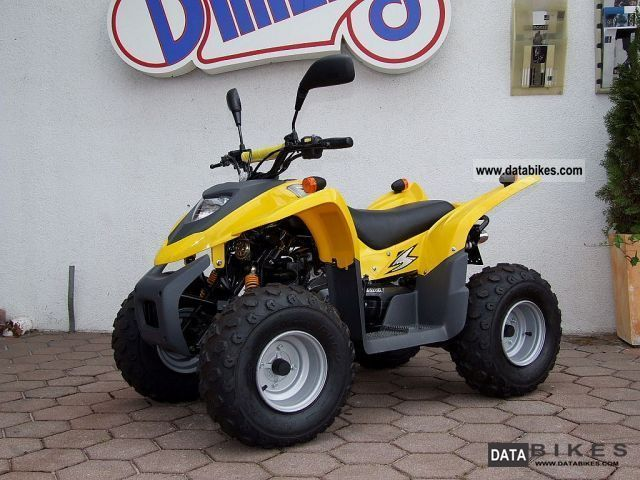 2011 Adly  50 automatic ATV for 10 years proved Motorcycle Quad photo
