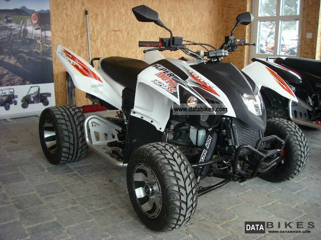 2011 Adly  Flat 320 Supermoto Hurricane Motorcycle Quad photo
