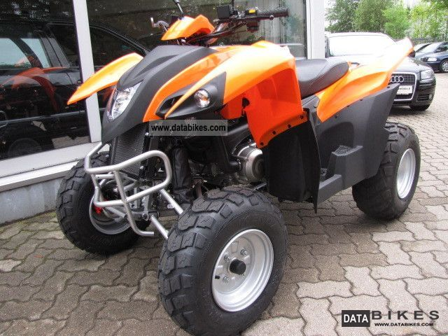 2011 Adly  Hercules HURRICANE280 * orange * by dealer Motorcycle Quad photo