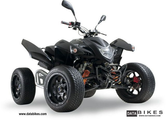 2011 Adly  Hercules Hurricane 500 FLAT LOF Demonstration Motorcycle Quad photo