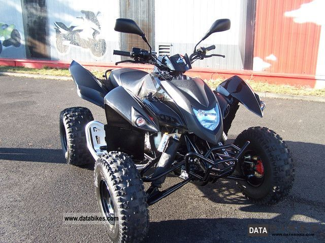 2011 Adly  500 S Black Hurrican Motorcycle Quad photo