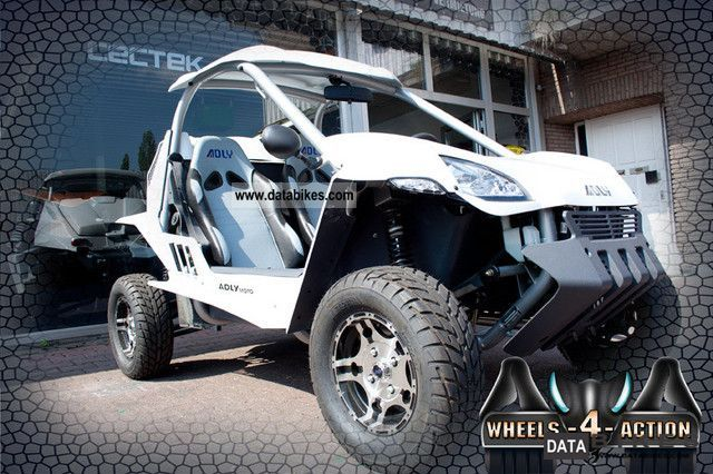 2011 Adly  Hercules Buggy MiniCar 320 OnRoad Motorcycle Quad photo