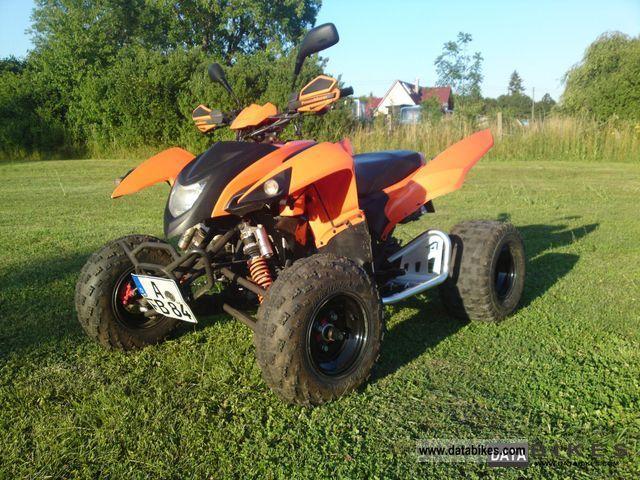 2008 Adly  Hurricane 500 s Motorcycle Quad photo