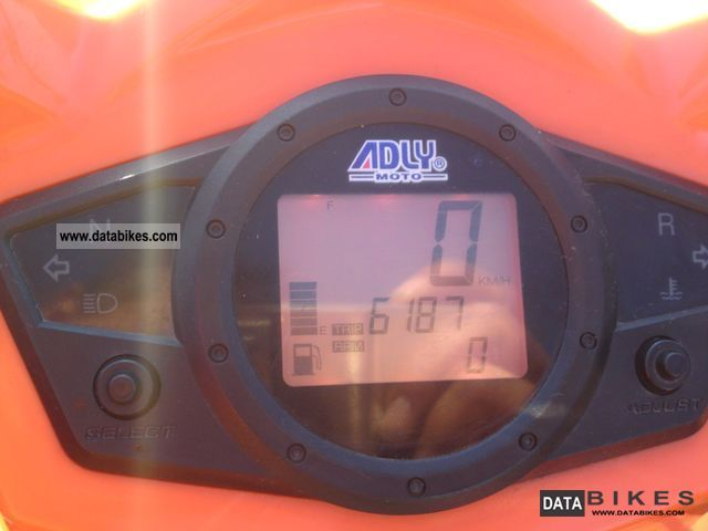 2008 Adly Hurricane 500 S