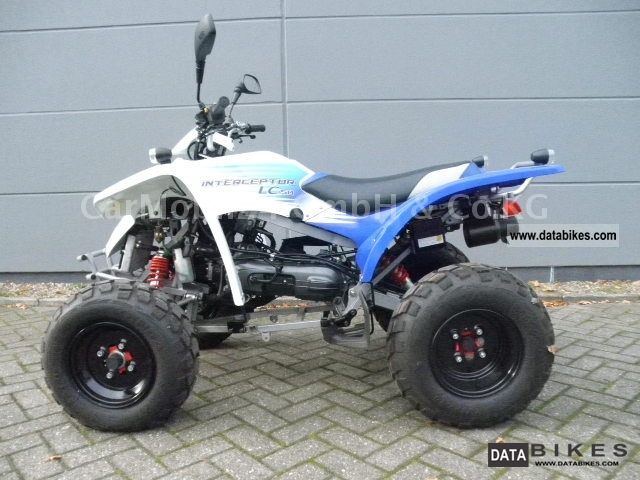 2011 Adly  LC 50 Interceptor Motorcycle Quad photo
