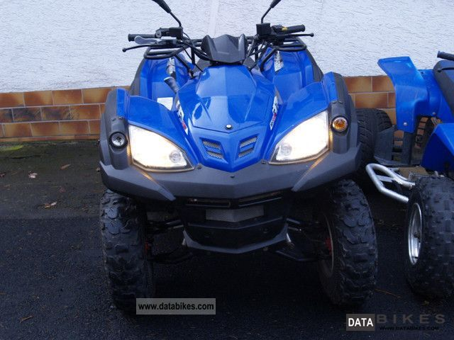 2008 Adly  320 S Canyon Motorcycle Quad photo