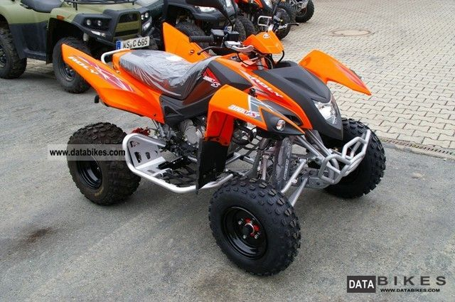 2011 Adly  2x300 Hurricane XS / Demonstration few km Motorcycle Quad photo