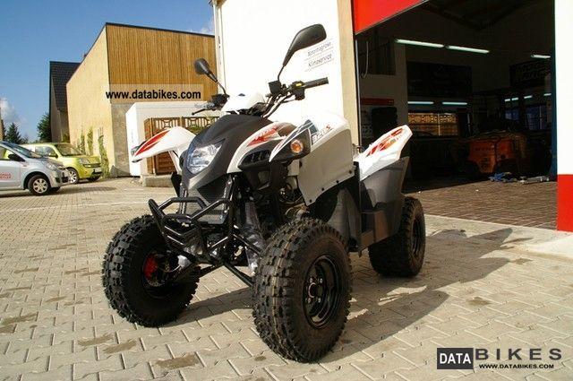 2011 Adly  320 S Hurricane / Demonstration Motorcycle Quad photo