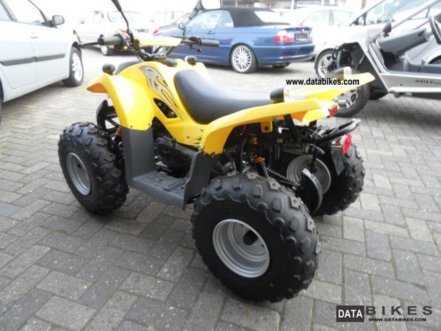 2011 Adly  ATV kids quad 51 VG SZ Motorcycle Quad photo