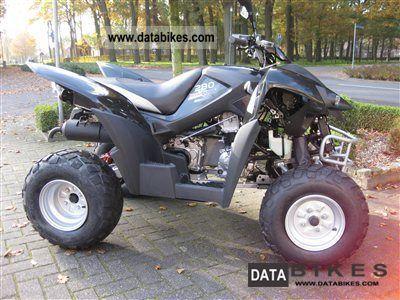 2011 Adly  Hurricane 280 Motorcycle Quad photo