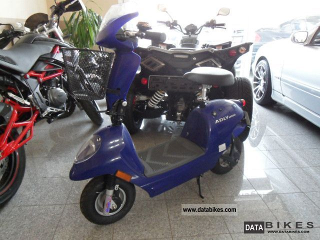 Adly  FC 20 blue electric motor 20 km / h from the dealer 2011 Electric Motorcycles photo
