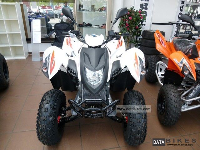 2011 Adly  Hurricane 320 S Automatic / 2011/21 PS Motorcycle Quad photo