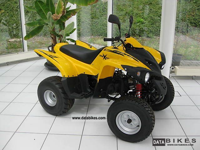 2011 Adly  Crossroad Motorcycle Quad photo