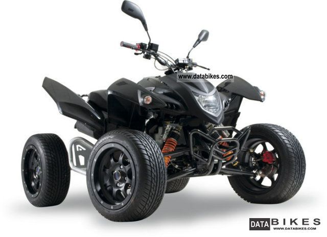 2010 Adly  500 S Hurricane LOF Flat Demonstration Motorcycle Quad photo
