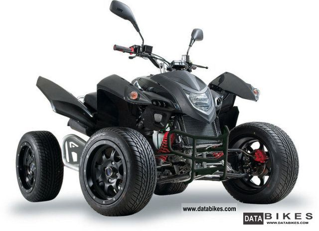 2011 Adly  Hercules Hurricane 320 Quad Flat Motorcycle Quad photo